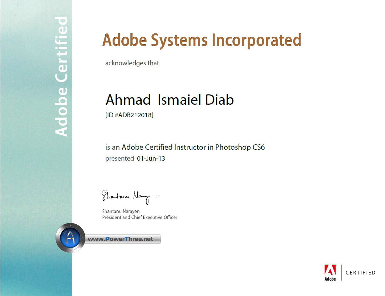 Adobe Photoshop Certificates Certificate Template Downloads