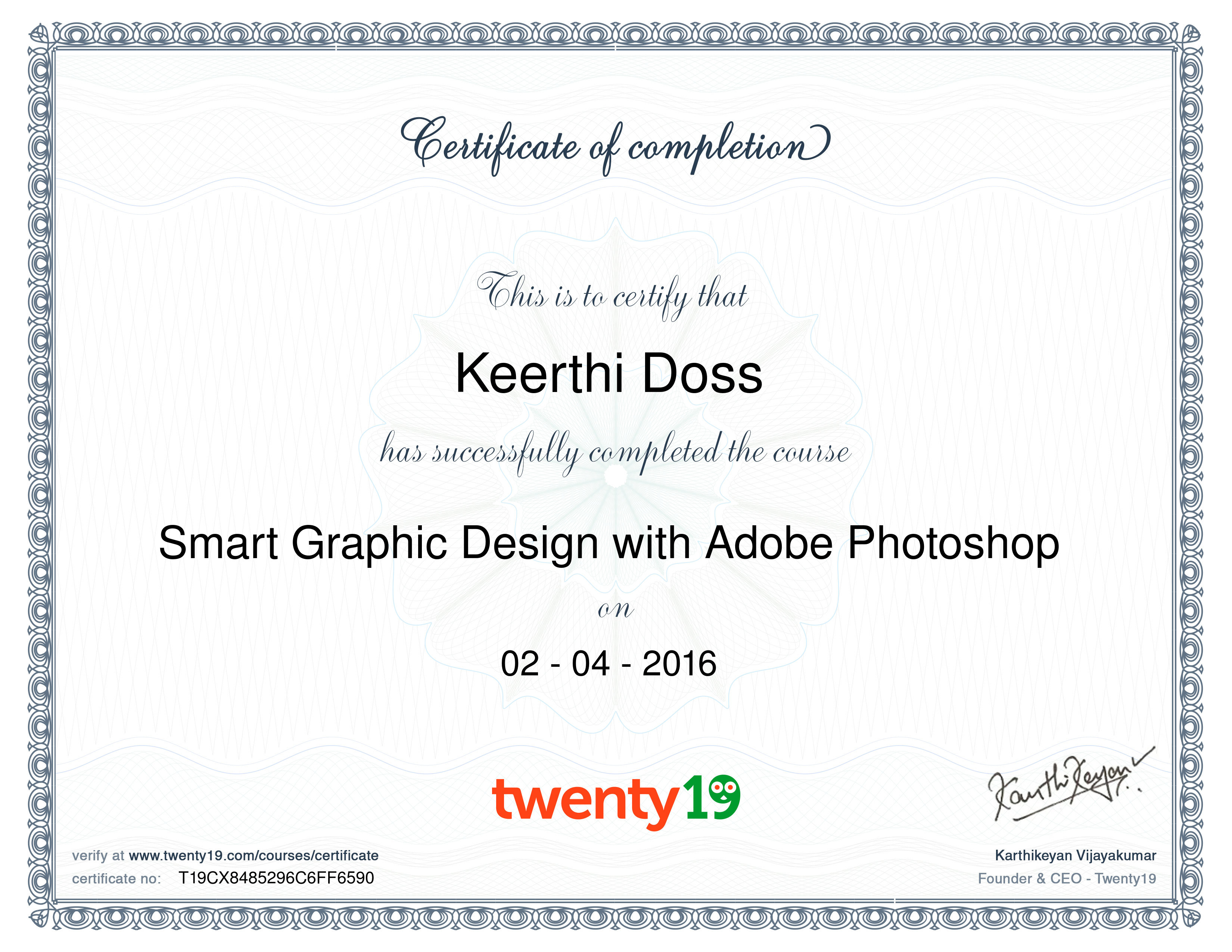 marketing-Adobe Certified Expert in Photoshop -certificate template-psd-doc-editable