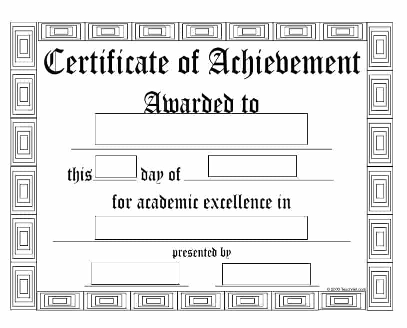 certificate-of-achievement-template-simple-download-editable-psd-msword