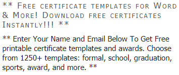 photo regarding Free Printable Sports Certificates referred to as Down load Certification Templates